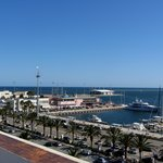 Marina view from the roof terrace