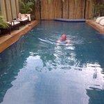 klein maar fijn zwembad