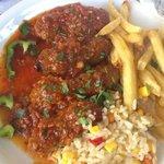 polpette in salsa speziata