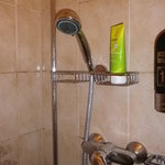 Duschbefestigung im Bad