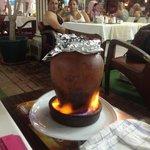 Clay pot casserole