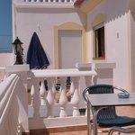 Balcony - Residencia Quinta do Poço - Rooms and Apartments