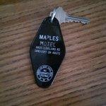 room keys are real keys!