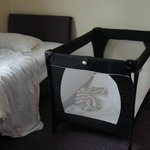 Travel Cot (Redkite) & Single bed