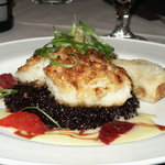 macadamia nut crusted grouper