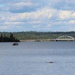 Boating on White Lake