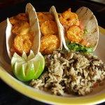 Fire cracker shrimp tacos