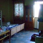 L'interno della stanza