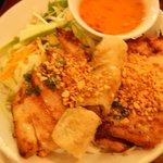 Chicken vietnamese spring rolls