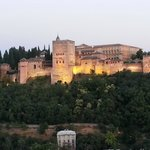 The oldest section of the Alhambra
