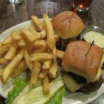 Sliders and Truffle Fries