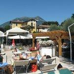 pool area - bellagio sporting club.