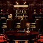 Lobby bar with finest selection of cigars and whis