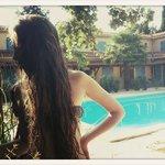 La piscine de l'Hotel Lou Valen