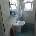 badkamer 2 pers. appartement zeezicht