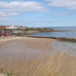 Beach looking towards Whitley Bay