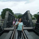 On the Bridge on River Kawai