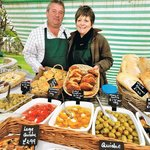 Hunmanby Pantry's stall at Filey Food Festival