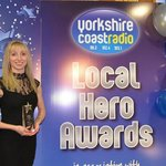 Congratulations to Angie for winning the Yorkshire Coast Radio 'Customer Service Award' 2013