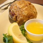 Stuffed quahog - yes, it definitely needed a squeeze of lemon and some melted butter