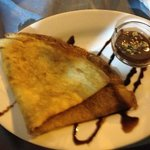 lovely Nutella and cookie crepe