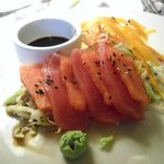 Yellowfin Tuna & Watermelon Sashimi - refreshing and gorgeous!