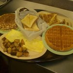 Omelets , Waffles, Pancakes & French Toast . . . .
