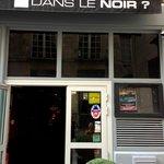 Front of the restaurant in Paris