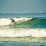 Surfer at Playa Grande, July 2013