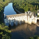 Château de Chenonceau from the air... Magical.