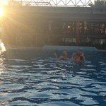 Pool area smaragdi hotel