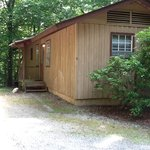 Cabin 5, only pet friendly cabin.