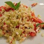lobster salad, fresh and tasty