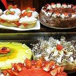 Dessert selection at The Wilton Pub, Cork.