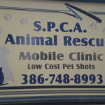 SPCA shot clinic sets up every month
