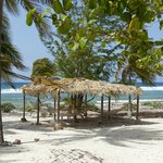 Hammocks to relax in on the beach