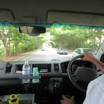 Rocky taking us from Negril to Runaway Bay
