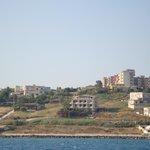Villa Margherita vista dal mare