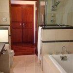 galley-style bathroom