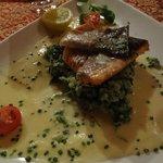 overpriced fish dish