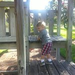my son loved the playground!