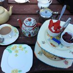 Our cream tea and scones !