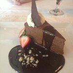 The best chocolate mousse cake I've ever ate!!!