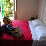 letto e balcone