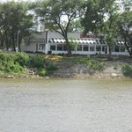 Steak and Shake, East Peoria, IL  view from Illinois River