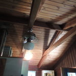 Vaulted ceilings. These cabins are beautiful!