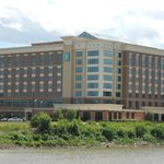 Embassy Suites hotel, East Peoria as seen from waterfront