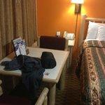 room was pretty small