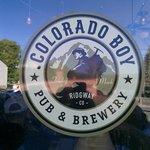 Colorado Boy Brewery Sign