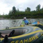 2) afloat on the Red Deer River  d;o)